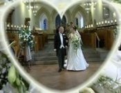 Screenshot of Angharad and Rhys Swansea Wedding video