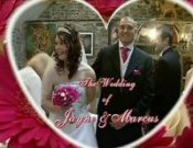 Screenshot of Jayne & Marcus Penycae Wedding video