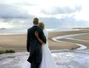 Screenshot of Lowrie & Rhys Pembrey Wedding video
