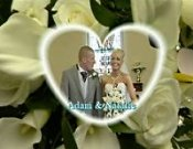 Screenshot of Natalie and Adams` Pontneathvaughan Wedding video