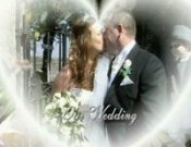 Screenshot of Tara and Andrew Penllergaer Wedding video