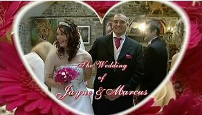 Wedding photo of Jayne & Marcus