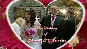 Wedding photo of Jayne and Marcus