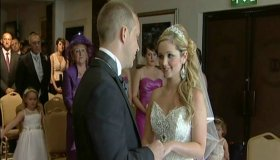 Wedding photo of Leanne and Scott